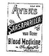 AYER'S SARSAPARILLA THE BEST BLOOD MEDICINE