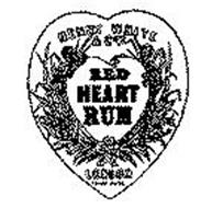 HENRY WHITE AND CO.'S RED HEART RUM LONDON