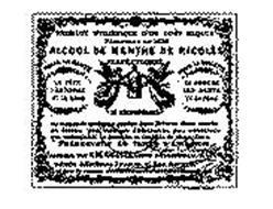 ALCOOL DE MENTHE DE RICQLES