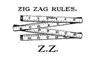 ZIG ZAG RULES Z.Z. STANLEY