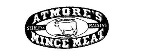 ATMORE'S MINCE MEAT CELEBRATED SEEDLESS RAISINS