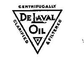 DE LAVAL OIL CENTRIFUGALLY CLARIFIED AND FILTERED