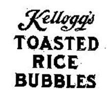 KELLOGG'S TOASTED RICE BUBBLES
