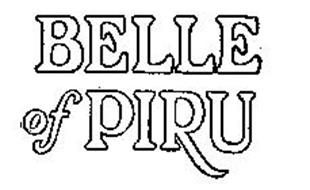 BELLE OF PIRU