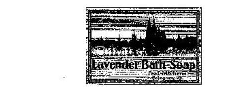 LAVENDER BATH-SOAP FERD. MULHENS COLOGNE A. RH.