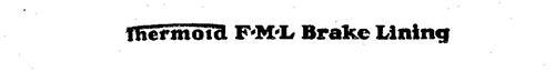 THERMOID F-M-L BRAKE LINING