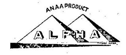 ALPHA ANAA PRODUCT