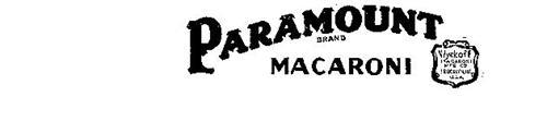 PARAMOUNT BRAND MACARONI WYCKOFF