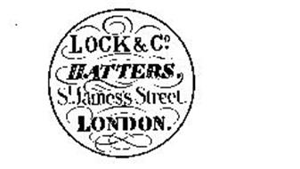 LOCK & CO. HATTERS. ST. JAMES'S STREET.LONDON.