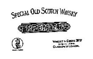 PREMIER SPECIAL OLD SCOTCH WHISKY WRIGHT& GREIG LIMITED DISTILLERS GLASGOW & LONDON TRADEMARK