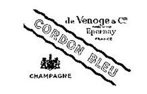 CORDON BLEU CHAMPAGNE DE VENOGE & CIE FONDE 1837 EPERNAY CHAMPAGNE