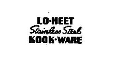 LO-HEET STAINLESS STEEL KOOK-WARE