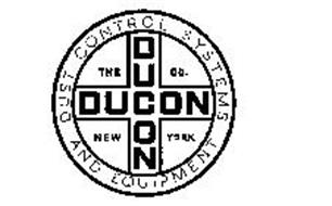 THE DUCON CO. NEW YORK DUST CONTROL SYSTEMS AND EQUIPMENT