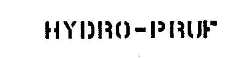 HYDRO-PRUF