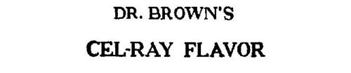 DR. BROWN'S CEL-RAY FLAVOR