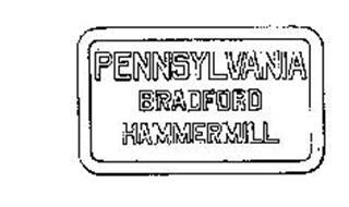 PENNSYLVANIA BRADFORD HAMMERMILL