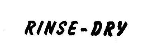 RINSE-DRY