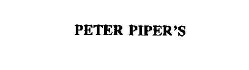 PETER PIPER'S