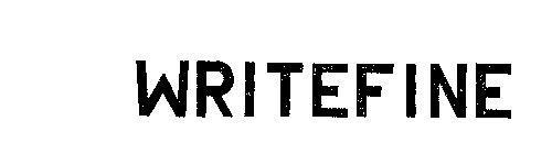WRITEFINE