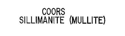 COORS SILLIMANITE (MULLITE)