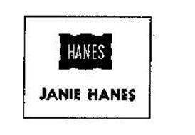 HANES JANIE HANES