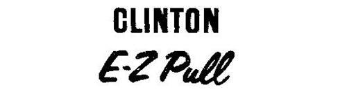 CLINTON E-Z PULL