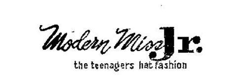 MODERN MISS JR. THE TEENAGERS HAT FASHION