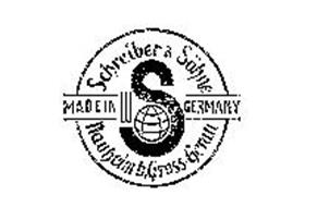 SCHREIBER AND SOHN MADE IN GERMANY NAUBEIMB GROSS GERAU S