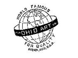 THE OHIO ART CO. WORLD FAMOUS FOR QUALITY BRYAN, OHIO, U.S.A.