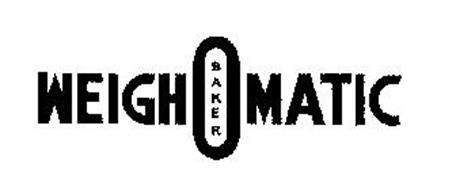 WEIGH-O-MATIC BAKER