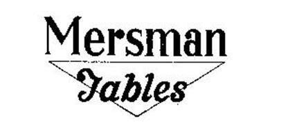 MERSMAN TABLES
