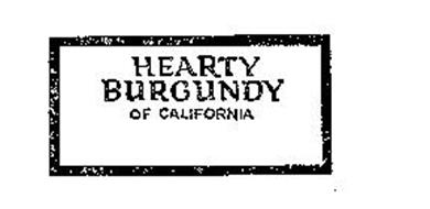 HEARTY BURGUNDY OF CALIFORNIA