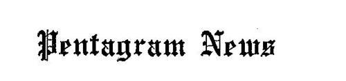 PENTAGRAM NEWS