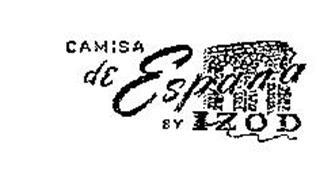 CAMISA DE ESPANA BY IZOD