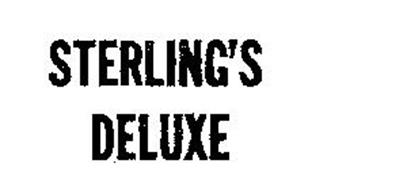 STERLING'S DELUXE