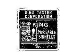 KING PORTABLE BRINELLS KING TESTER CORPORATION