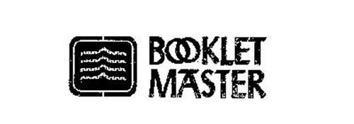 BOOKLET MASTER