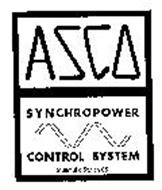 ASCO SYNCHROPOWER CONTROL SYSTEM AUTOMATIC SWITCH CO.