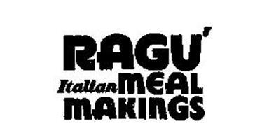 RAGU'ITALIAN MEAL MAKINGS