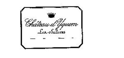 CHATEAU D'YQUEM LUR-SALUCES
