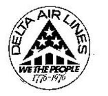 DELTA AIR LINES WE THE PEOPLE 1776-1976