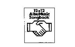 12X12 ALBUMUSIC SONGBOOK