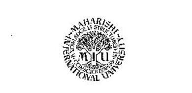 MIU MAHARISHI INTERNATIONAL UNIVERSITY KNOWLEDGE IS STRUCTURED IN CONSCIOUSNESS