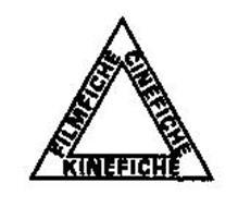 FILMFICHE CINEFICHE KINEFICHE