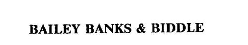 BAILEY BANKS & BIDDLE