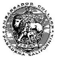 AMBASSADOR COLLEGE PASADENA CALIFORNIA THE LION SHALL DWELL WITH THE LAMB AND A LITTLE CHILD SHALL LEAD IN THE WORLD TOMORROW ISAIAH 11:6