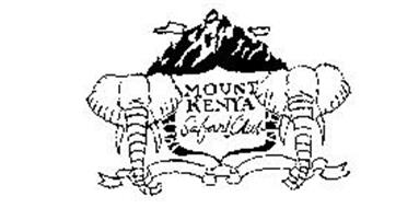 Mount Kenya Safari Club, Ltd. Trademarks (1) from