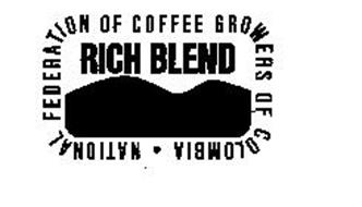RICH BLEND NATIONAL FEDERATION OF COFFEEGROWERS OF COLUMBIA