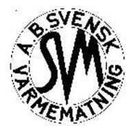 SVM A.B. SVENSK VARMEMATNING