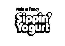 PLAIN OR FANCY SIPPIN' YOGURT